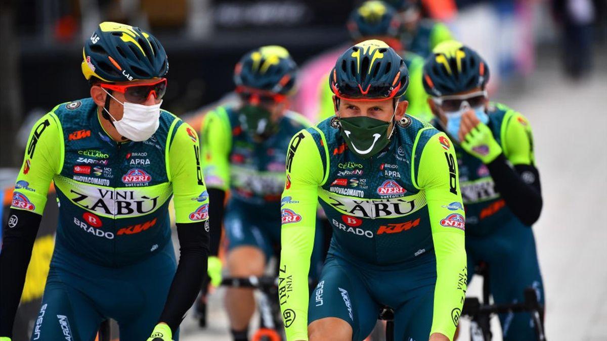Der italienische Rennstall Vini Zabù wird nicht beim Giro d'Italia 2021 antreten