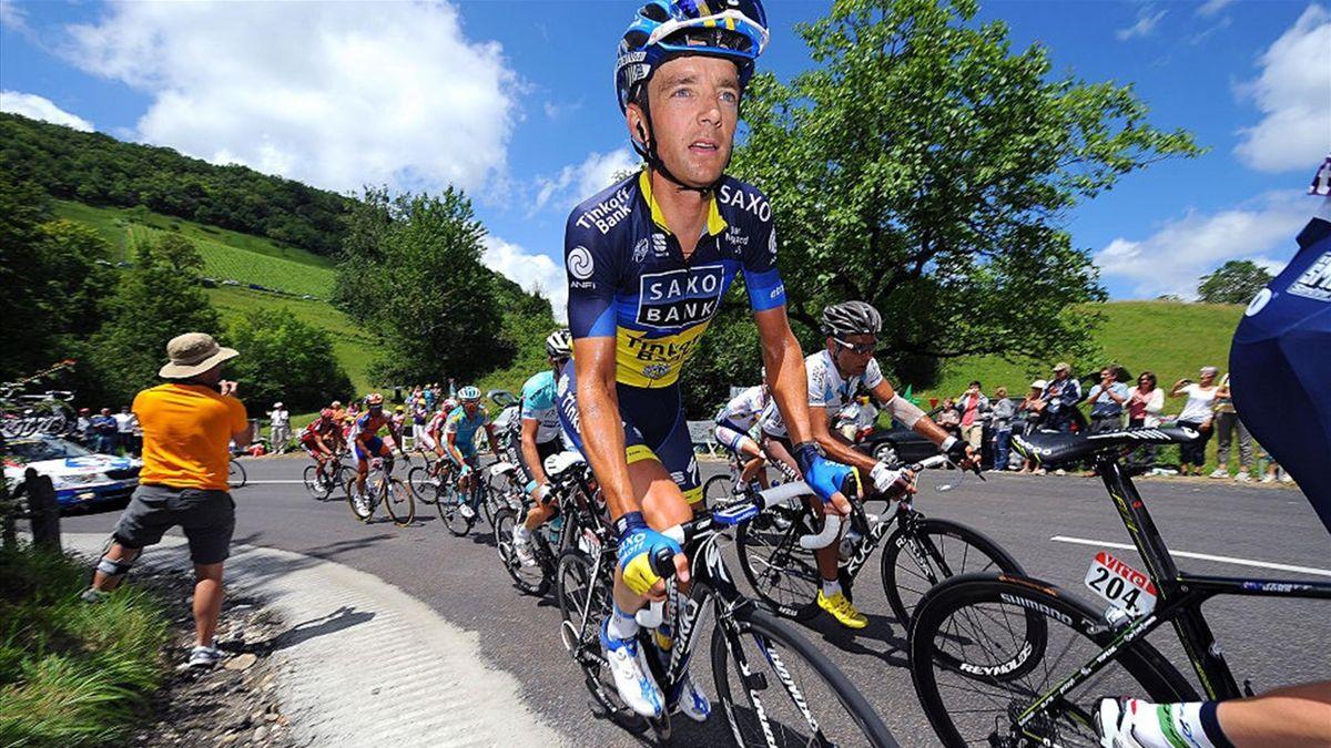 Cycling : 99th Tour de France 2012 / Stage 10 Karsten Kroon (Ned)/ Macon - Bellegarde-Sur-Valserine (194,5Km)/ Ronde van Frankrijk TDF / Rit Stage /(c)Tim De Waele (Photo by Tim de Waele/Corbis via Getty Images)