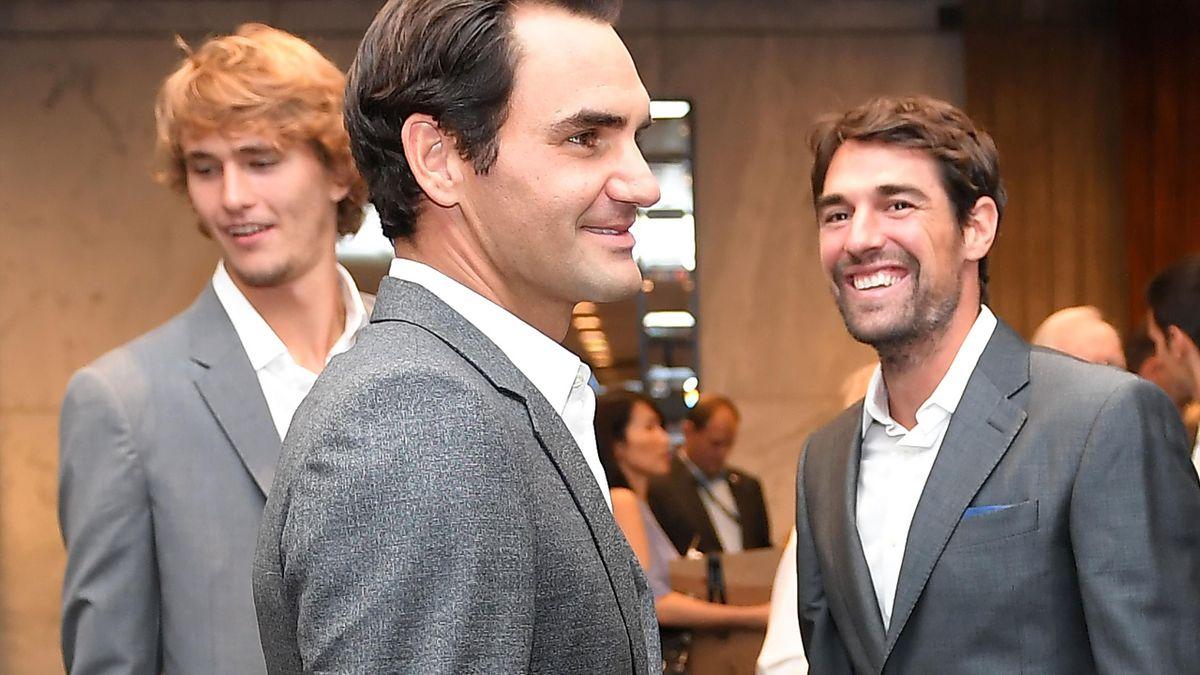 Alexander Zverev & Roger Federer