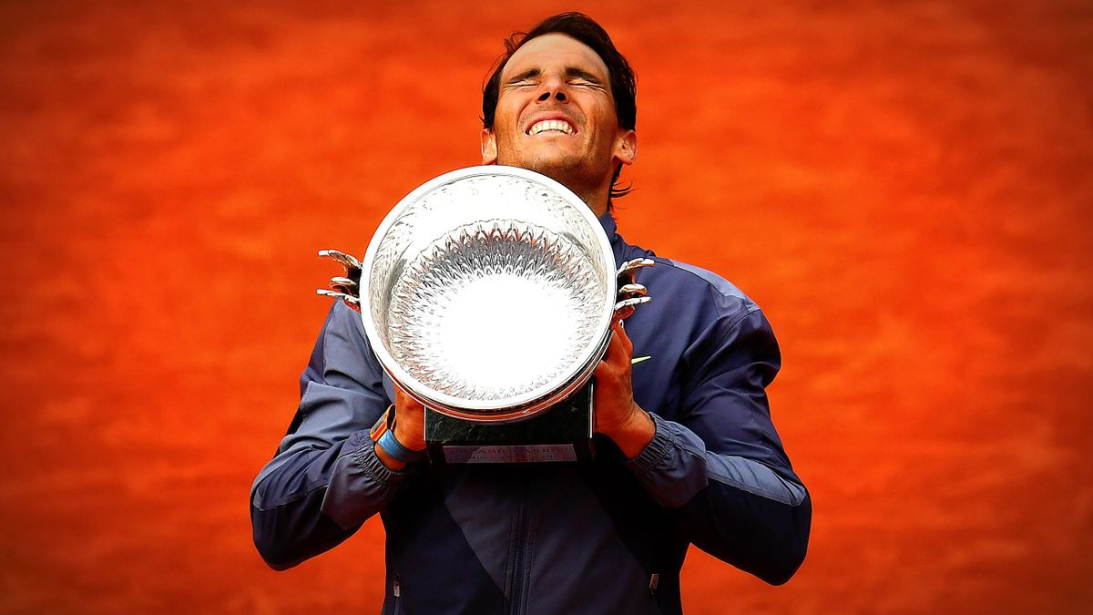Rafael Nadal, l'incontournable roi de la terre.
