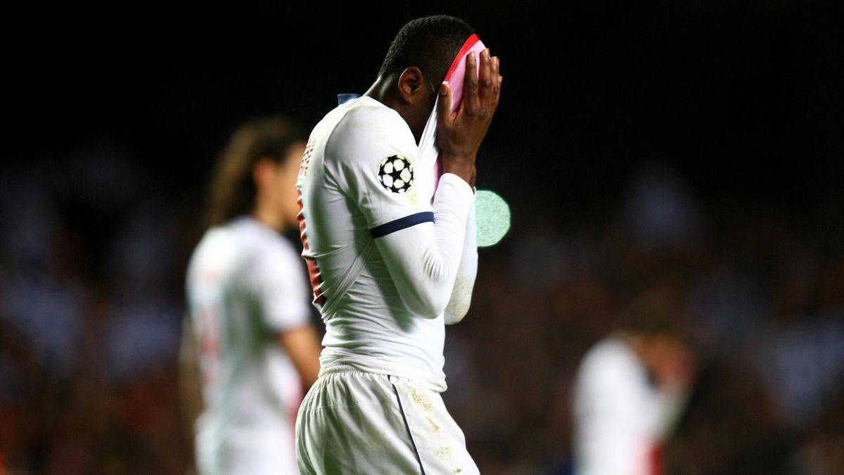 La déception de Blaise Matuidi après l'élimination du PSG en Ligue des champions