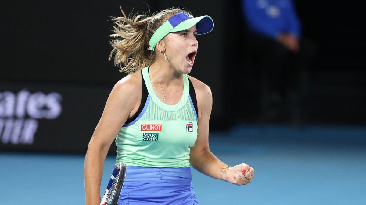 Sofia Kenin à Melbourne en 2020