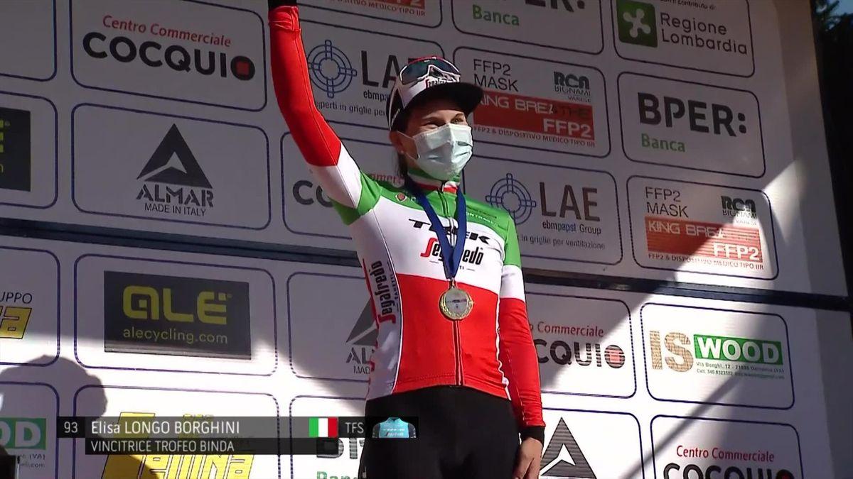 Trofeo Alfredo Binda prooi voor Longo Borghini