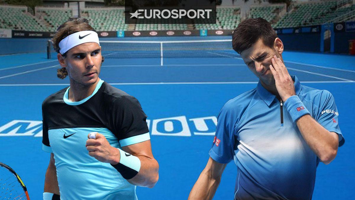 Nadal y Djokovic, Open Australia