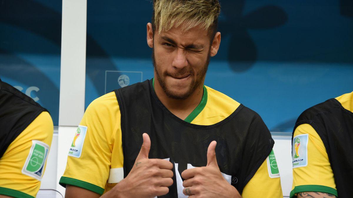 Neymar ist wieder einmal Brasiliens Hoffnungsträger