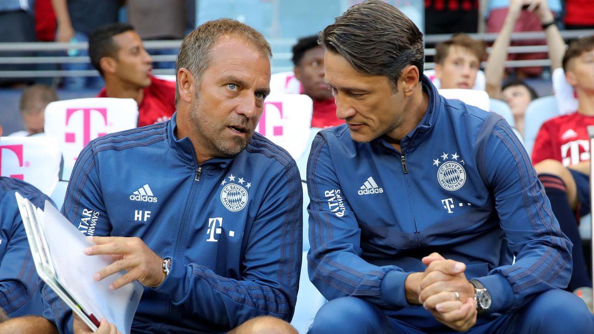 Hansi Flick, Niko Kovac - FC Bayern München