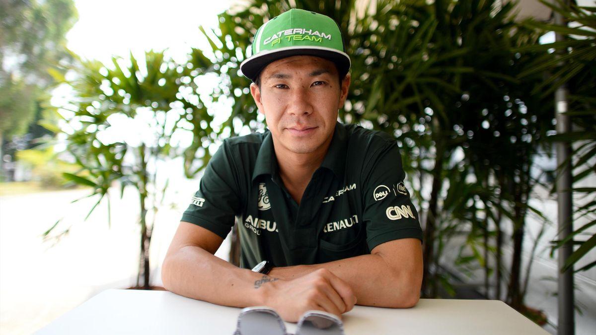 Kamui Kobayashi (Caterham) au Grand Prix de Malaisie 2014