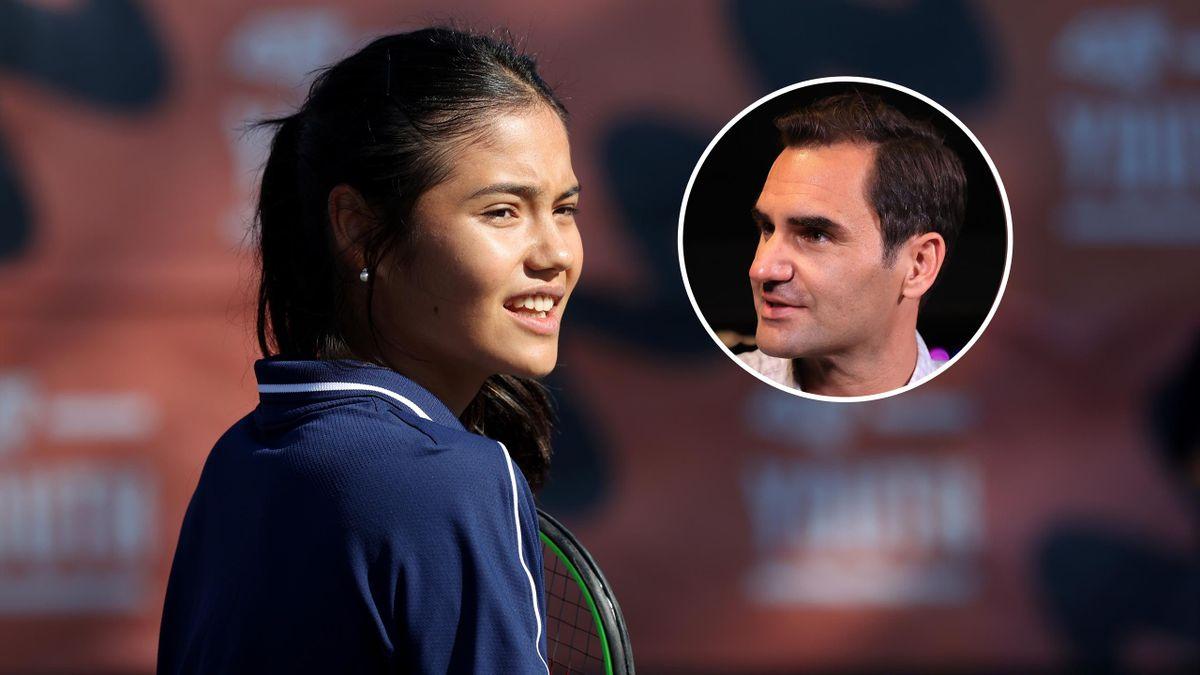 Emma Răducanu & Roger Federer
