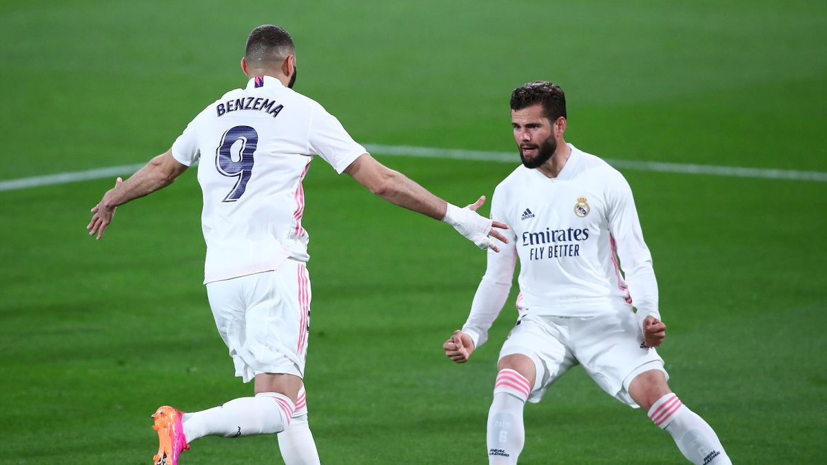 Karim Benzema buteur contre Cadix dans la victoire du Real