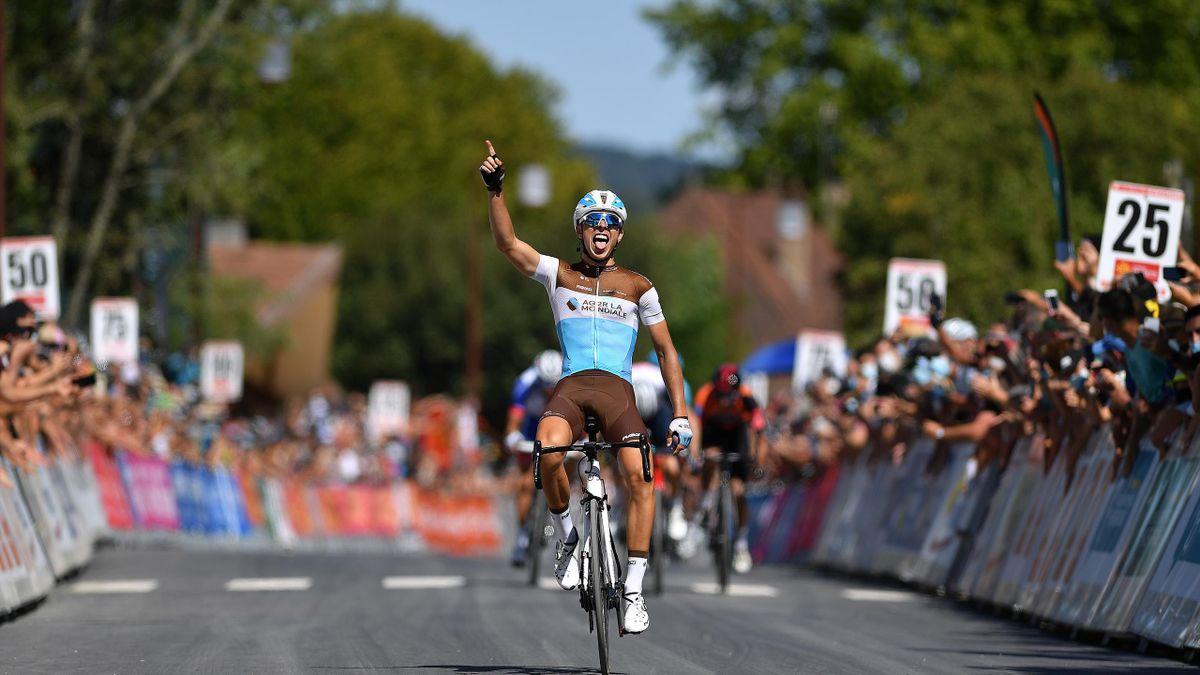 Benoit Cosnefroy remporte la dernière étape du Tour d'Occitanie