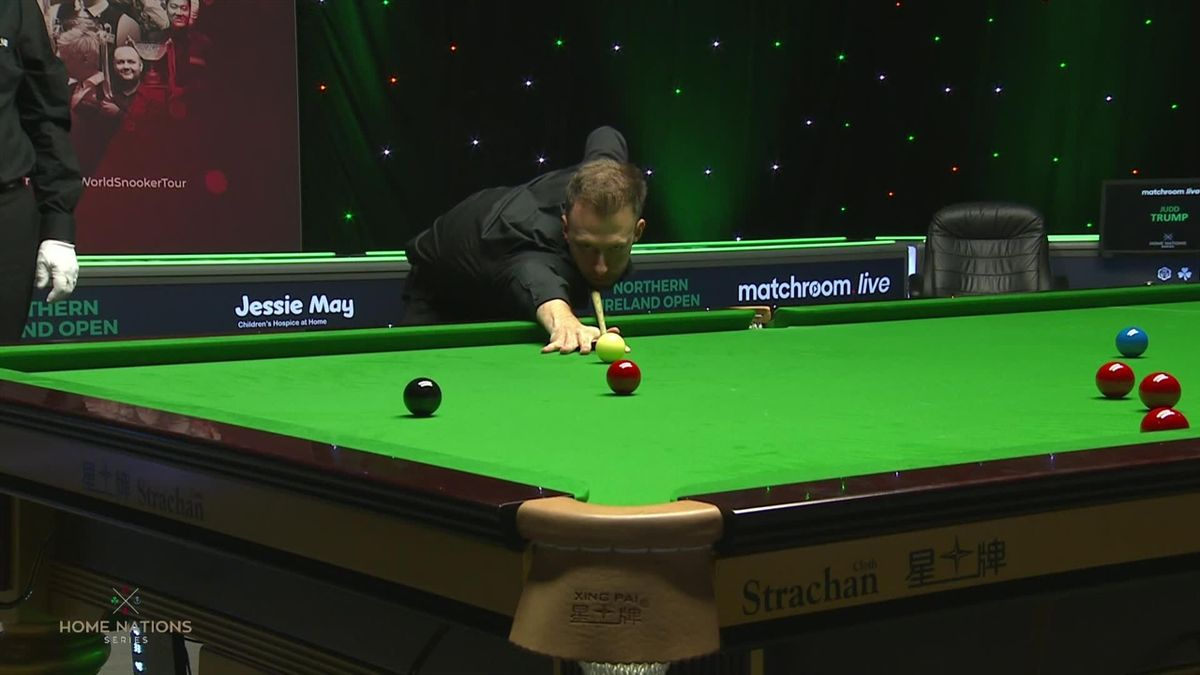 Snooker Home Nations Northern Ireland Open 1/4 final : Century 112 Trump