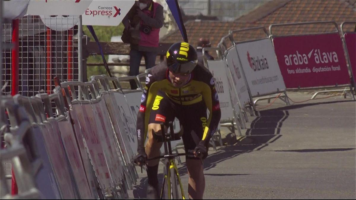 Ronde van het Baskenland | Roglic wint tijdrit