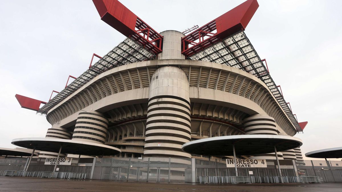 Das alte San Siro wird durch eine neue Arena ersetzt
