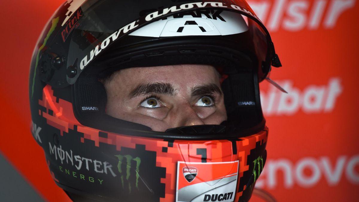 Jorge Lorenzo (Ducati Team) lors du Grand Prix de Thaïlande 2018