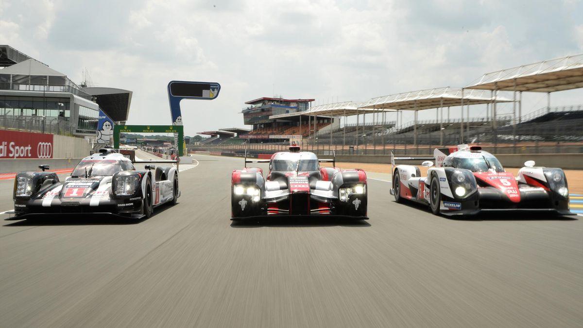 Die Wagen der LMP1