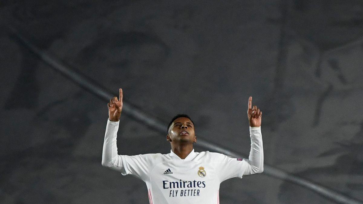 La célébration du Rodrygo, buteur décisif face à l'Inter