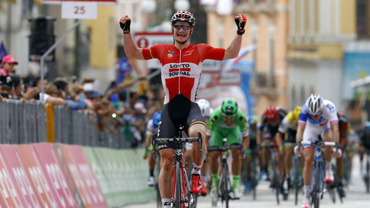 Andre Greipel sur le Giro 2016