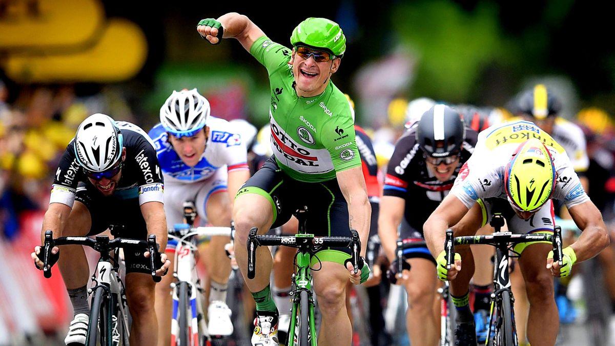 Zweiter Etappensieg bei dieser Tour: André Greipel