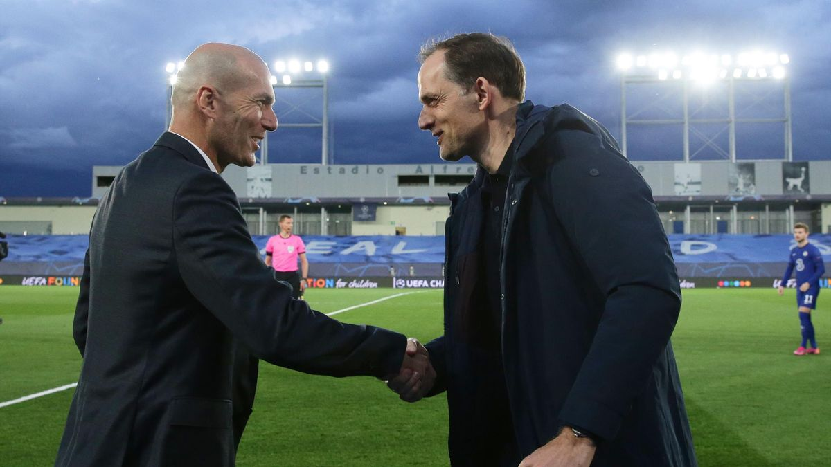 Zinedine Zidane și Thomas Tuchel
