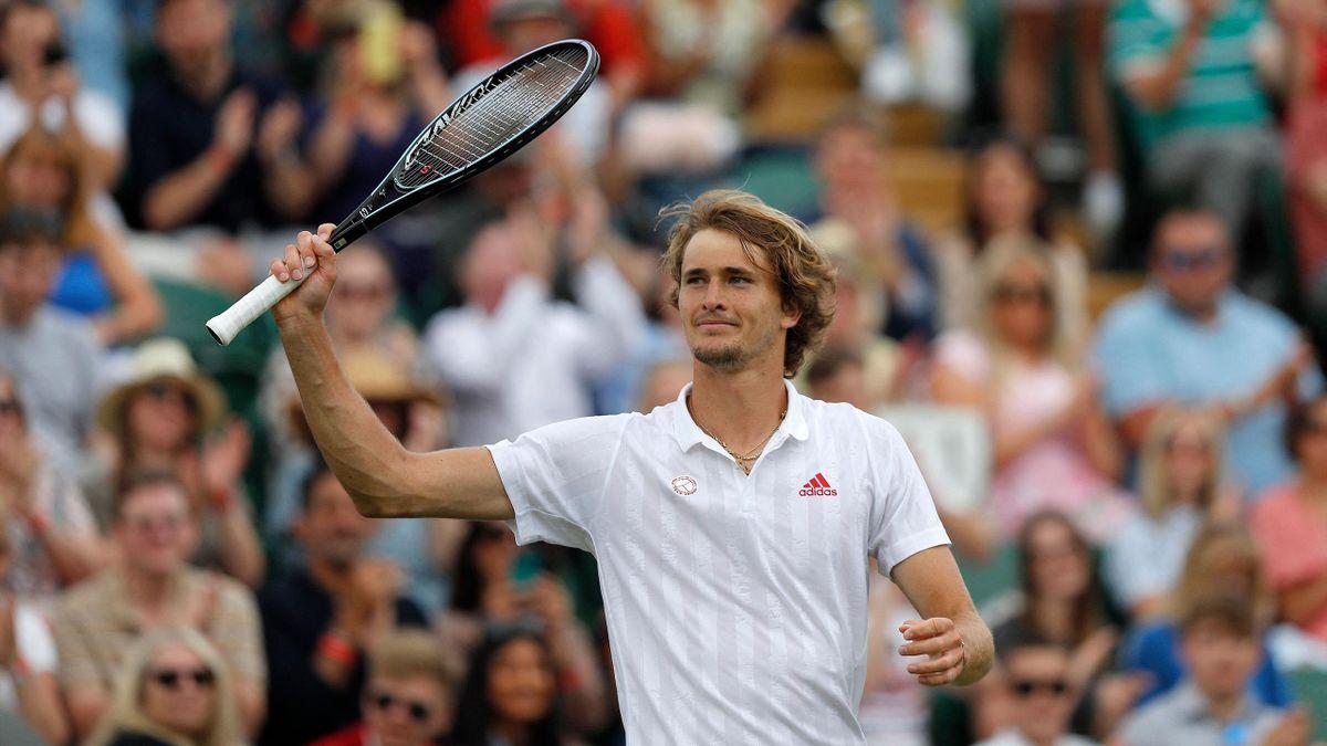 Alexander Zverev in Wimbledon