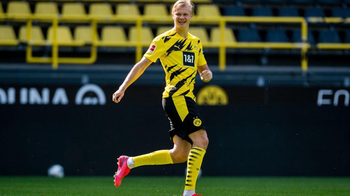 Erling Haaland, starul celor de la Borussia Dortmund