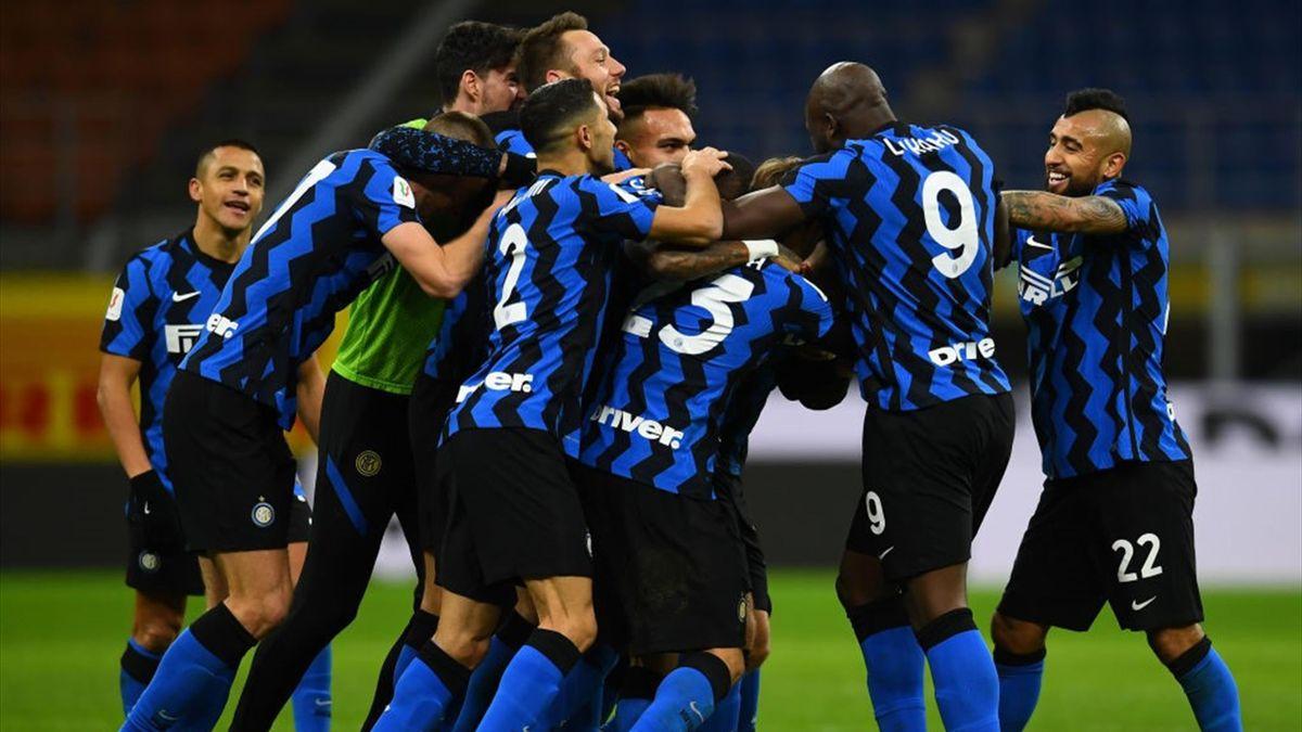 Inter-Milan - Coppa Italia 2020-2021