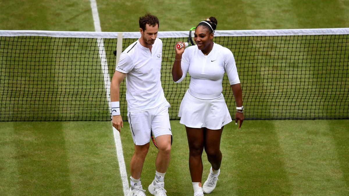 Serena Williams - Andy Murray, Wimbledon 2019