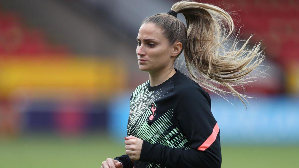 Tottenham Hotspur captain Shelina Zadorsky