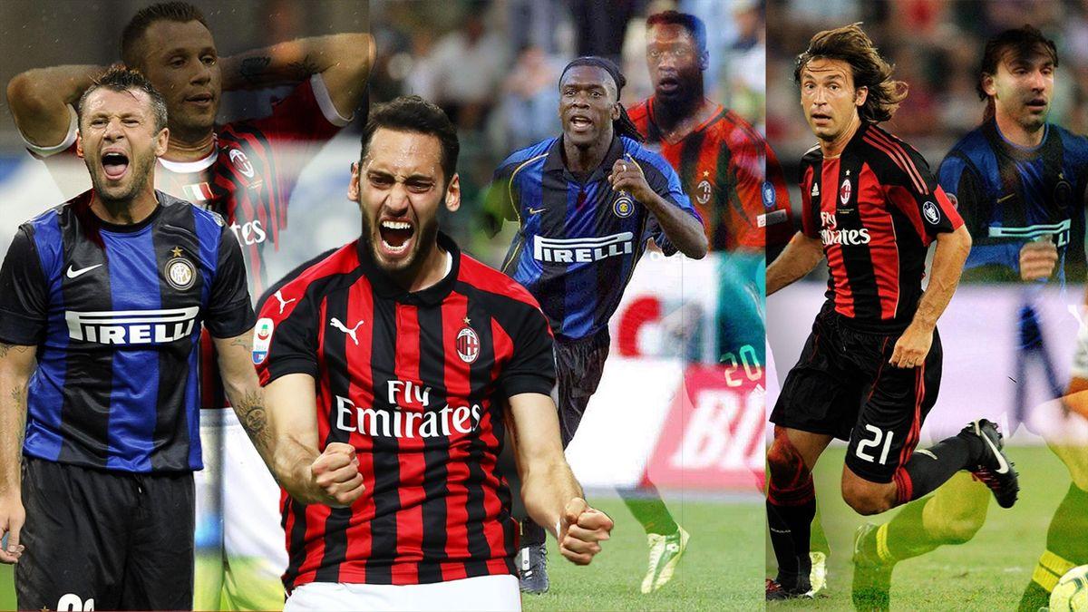 Tutti i giocatori passati dal Milan all'Inter (e viceversa)