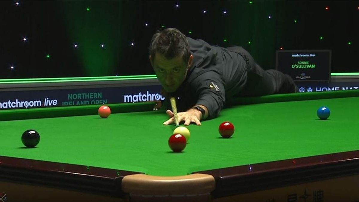 Ronnie O'Sullivan beim Northern Ireland Open