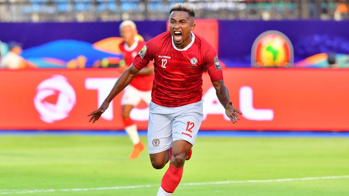 Lalaina Nomenjanahary aus Madagaskar (Afrika-Cup)