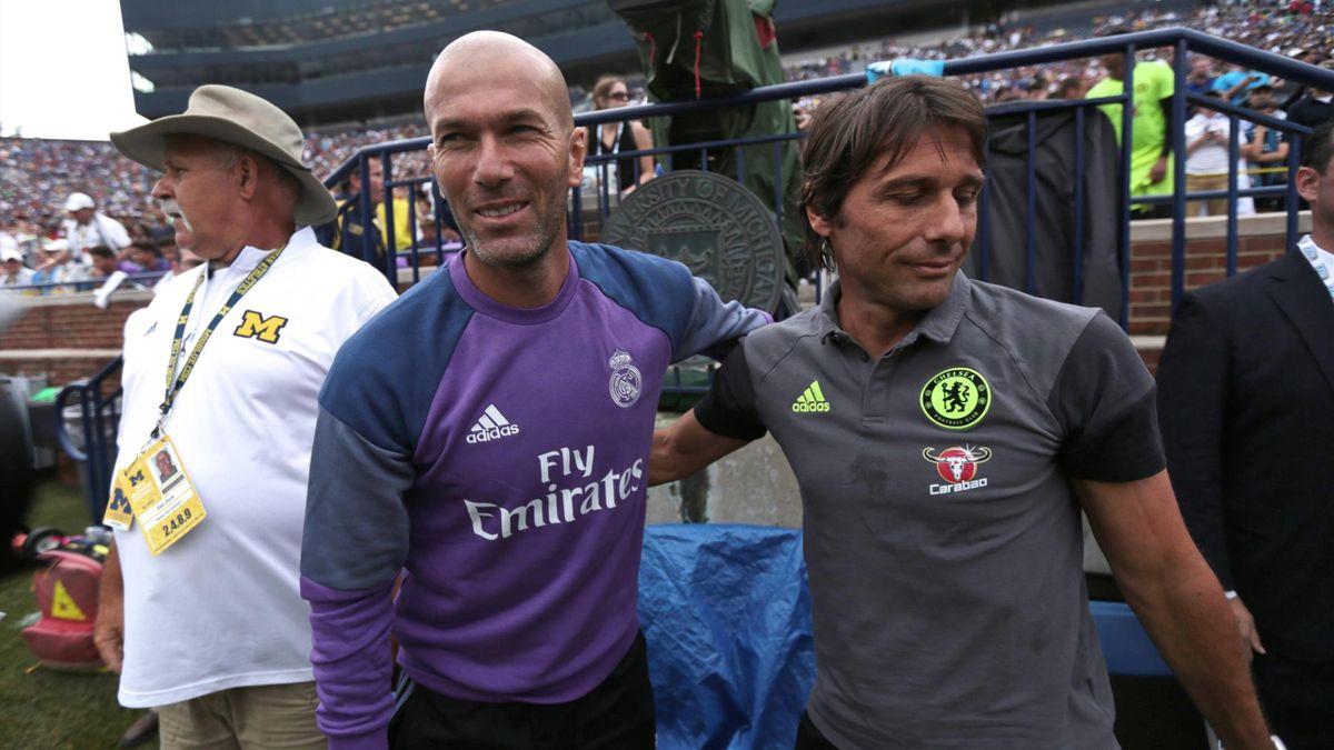 Real Madrid-Inter: Zidane e Conte si giocano tutto - Eurosport