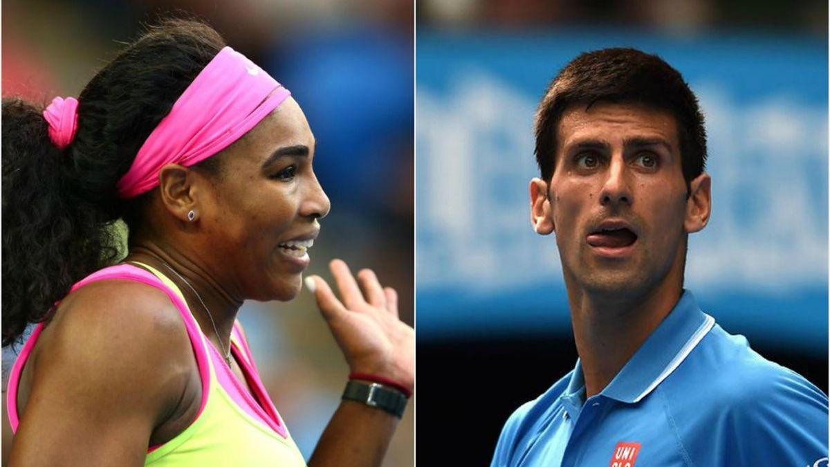 Serena Williams, Novak Djokovic