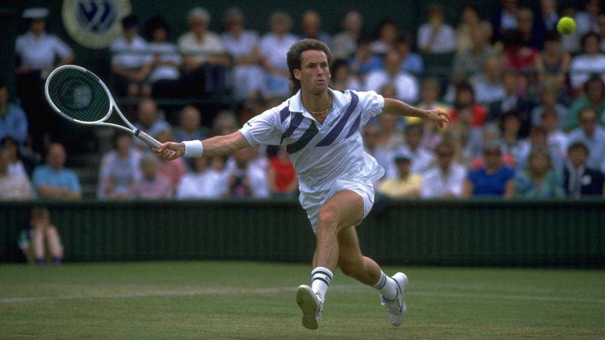 Ken Flach à Wimbledon en 1988