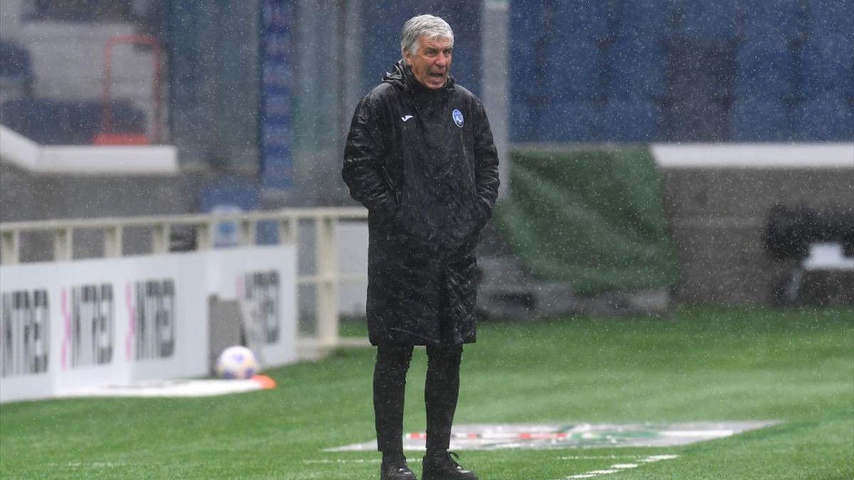Gian Piero Gasperini dà indicazioni Atalanta-Udinese - Serie A 2020/2021 - Getty Images