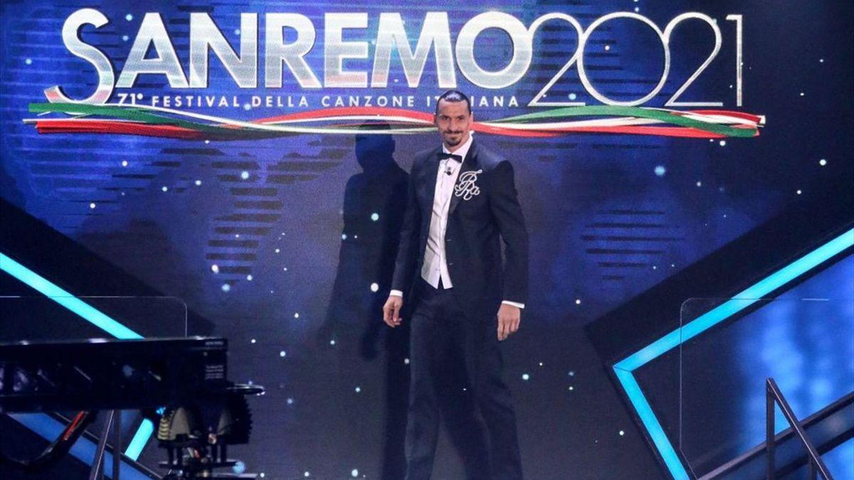 Ibrahimovic a Sanremo