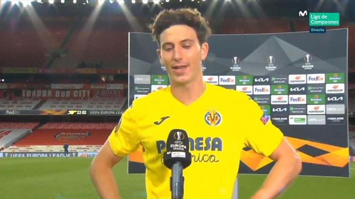 Pau Torres tras pasar a la final de la Europa League