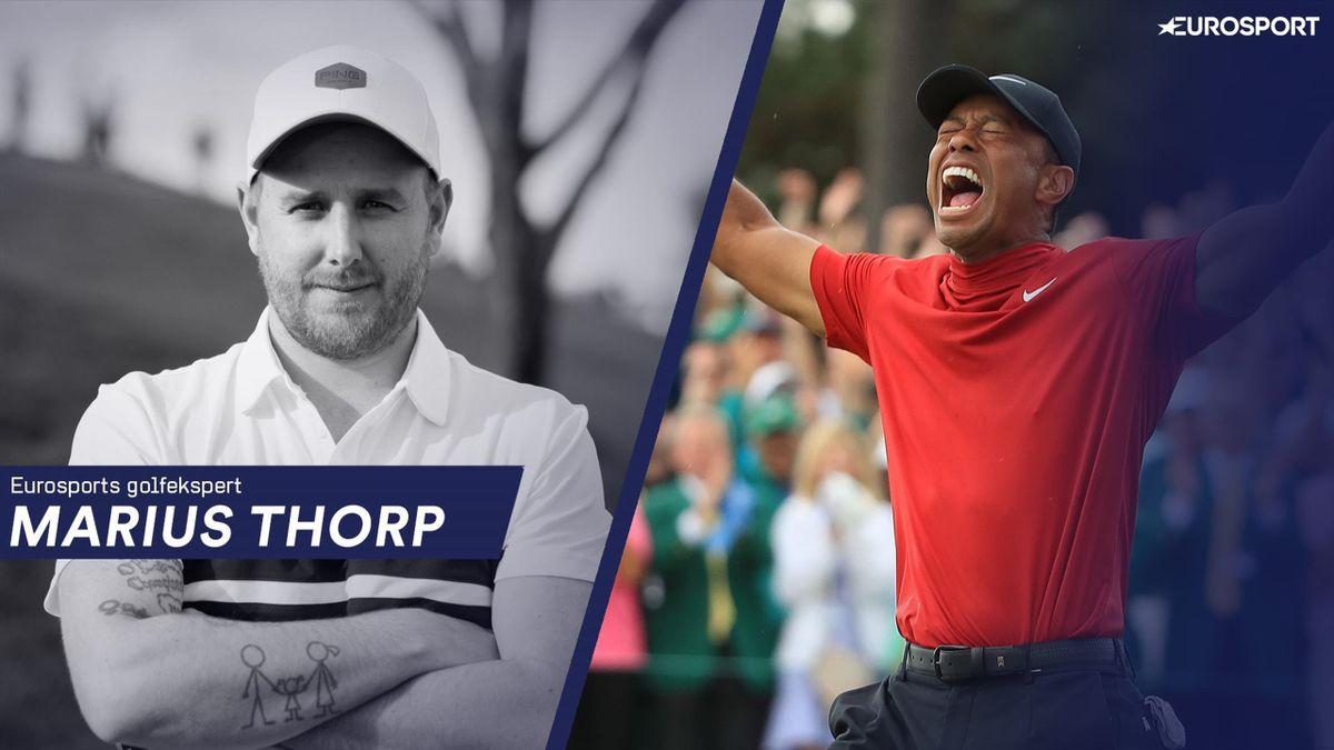 Eurosports golfekspert Marius Thorp blogger om Masters