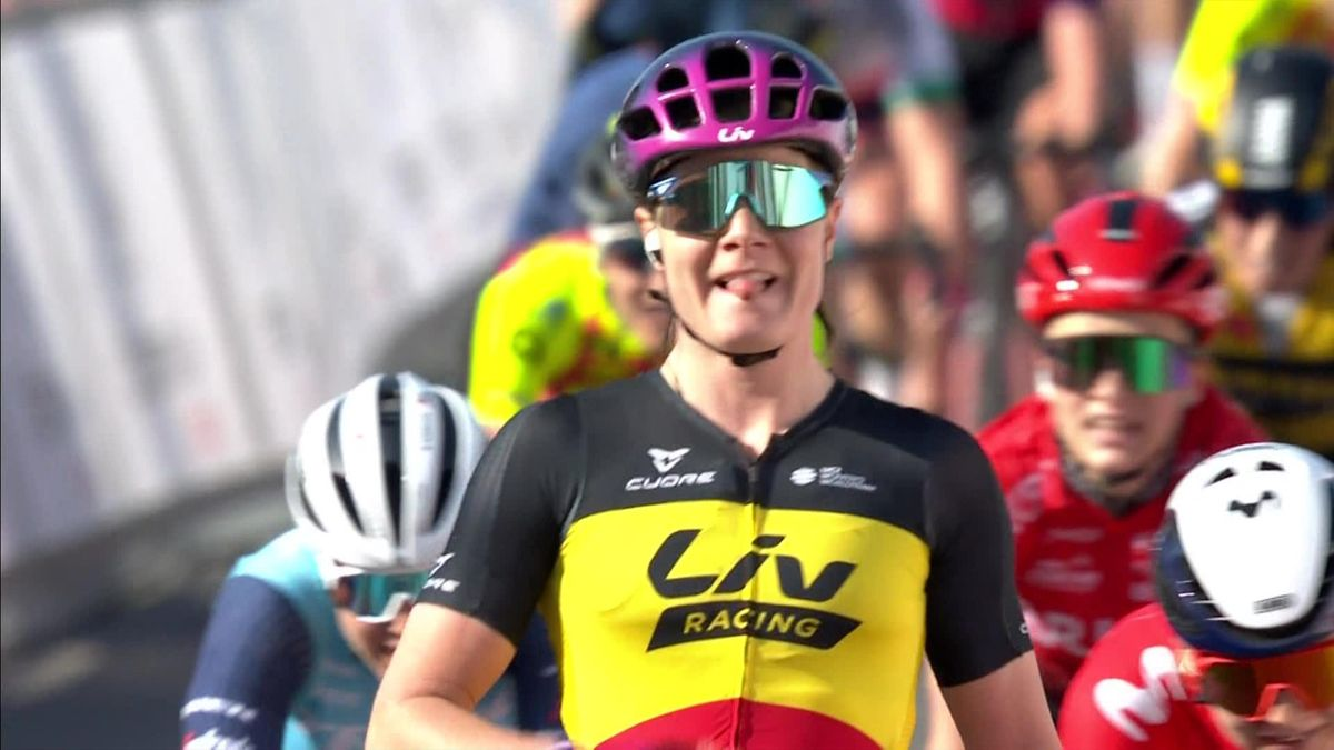 'Timed to perfection' - Kopecky sprints to Le Samyn des Dames victory