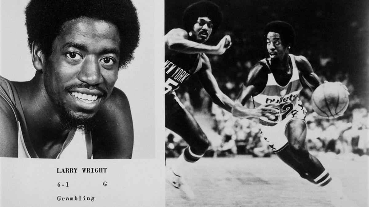 Larry Wright, Washington Bullets, NBA