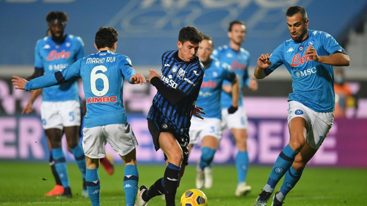 Pessina - Atalanta-Napoli - Serie A 2020/2021 - Getty Images