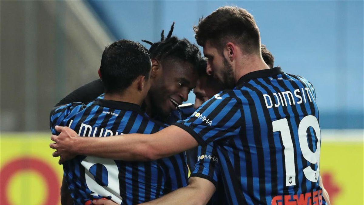 Atalanta-Napoli Coppa Italia 2020-21
