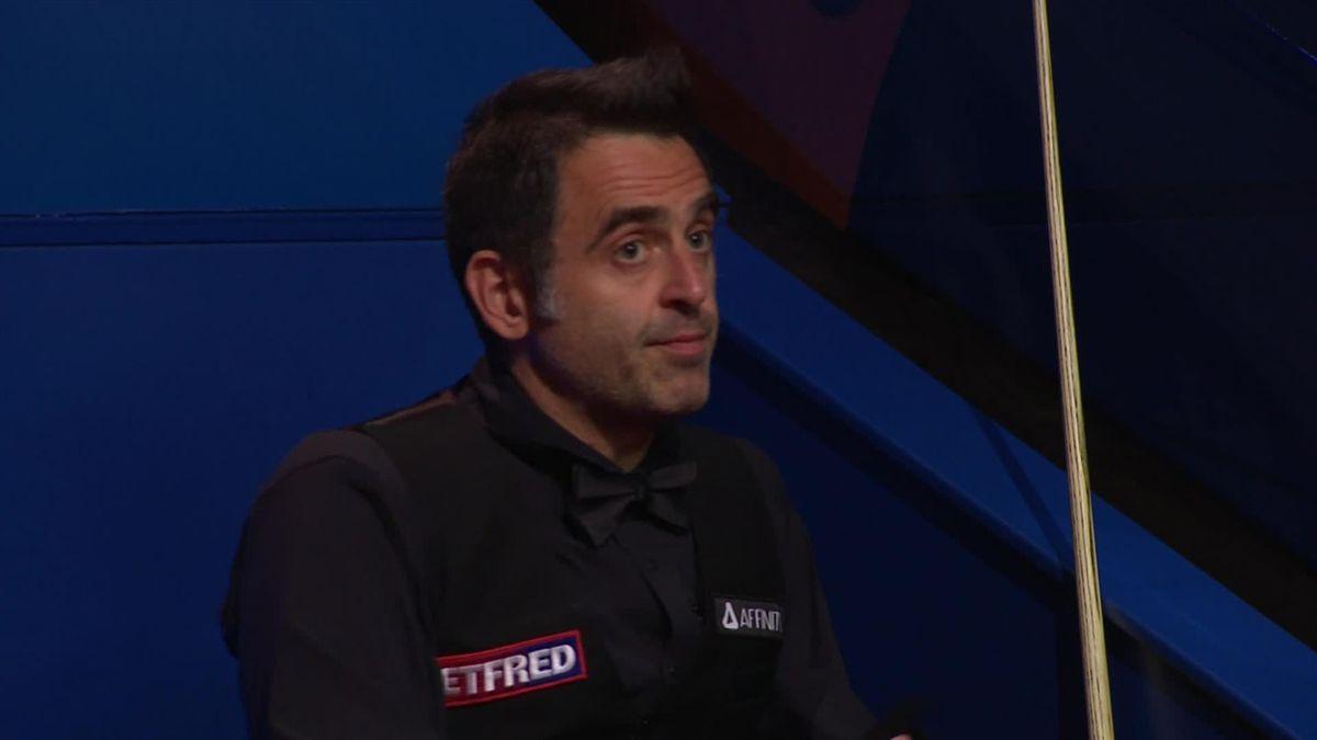 Snooker WCH Sheffield: O'Sullivan century vs Wilson in frame 7