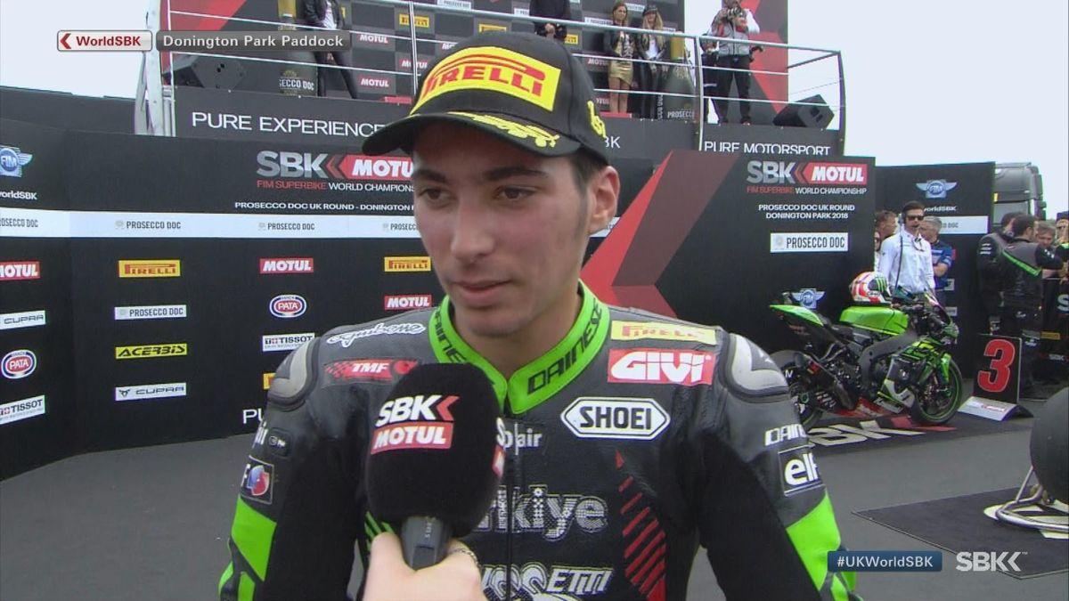Superbikes - Interview Razgatlioglu