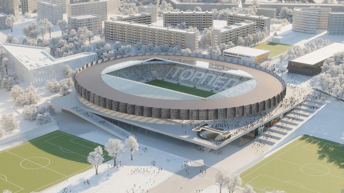 Как будет выглядеть стадион «Торпедо» после реконструкции