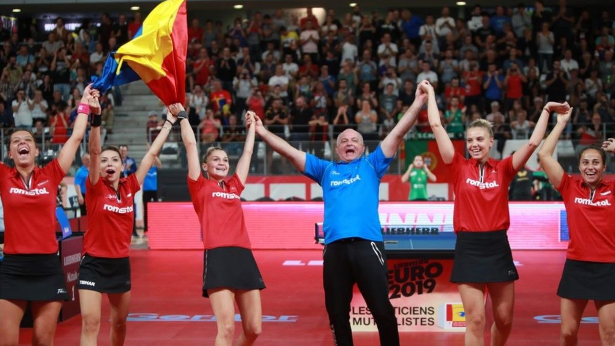 Romania, Table Tennis Women Team