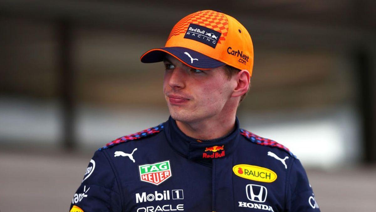 Max Verstappen (Red Bull) au Grand Prix d'Espagne 2021