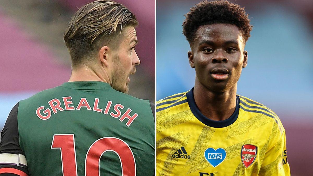 Jack Grealish and Bukayo Saka missed out on England call-ups