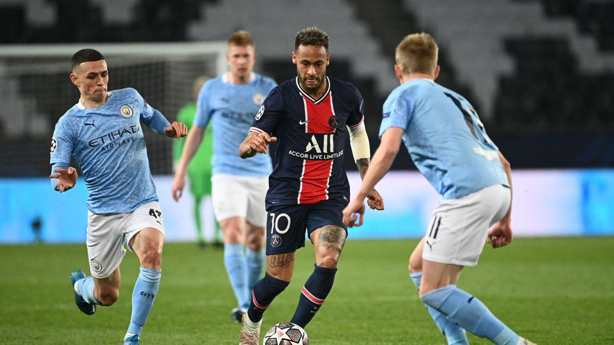 Neymar győzelemre vezetné a PSG-t a City ellen