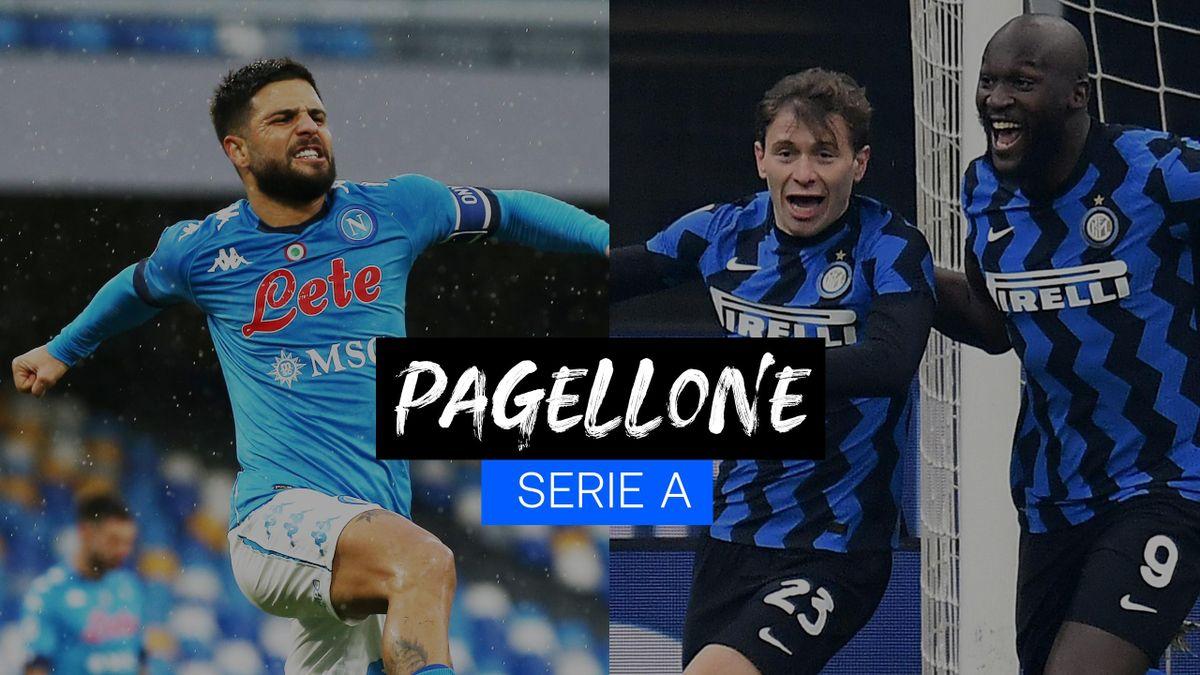 Lorenzo Insigne, Nicolò Barella: due dei protagonisti della 18a giornata di Serie A, Getty Images